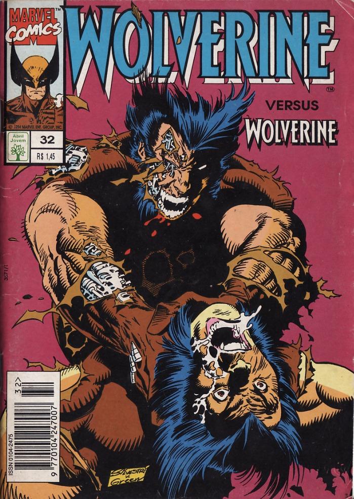Capa: Wolverine Abril 32