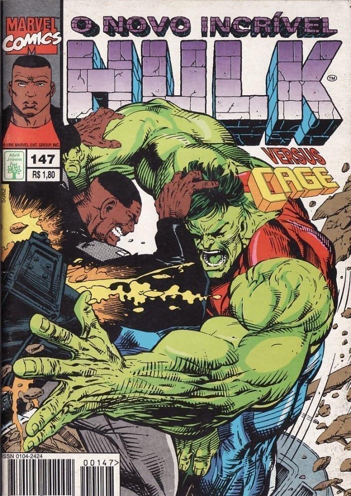 Capa: O Incrível Hulk Abril 147