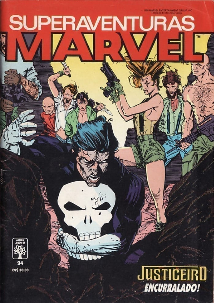<span>Superaventuras Marvel Abril 94</span>