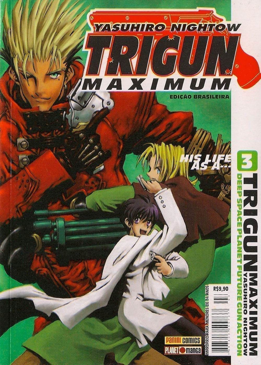 Capa: Trigun Maximum 3