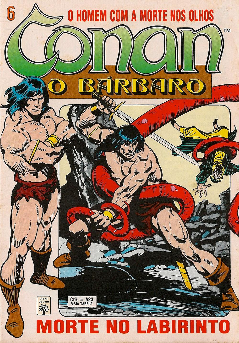 Capa: Conan, O Bárbaro Abril 6