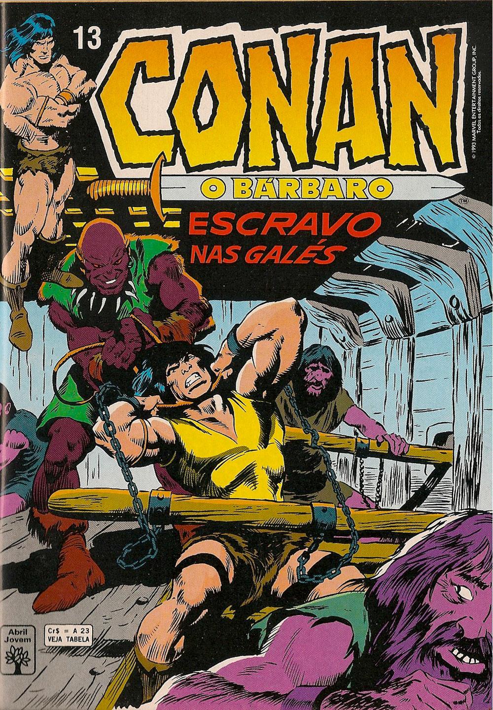 Capa: Conan, O Bárbaro Abril 13