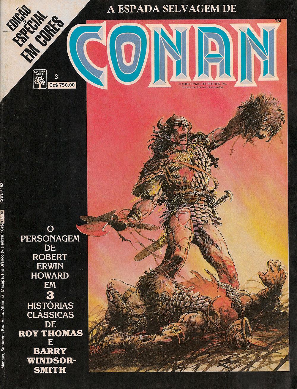 Capa: Conan em Cores 3