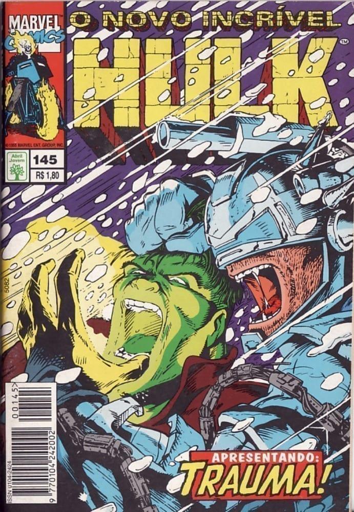 Capa: O Incrível Hulk Abril 145