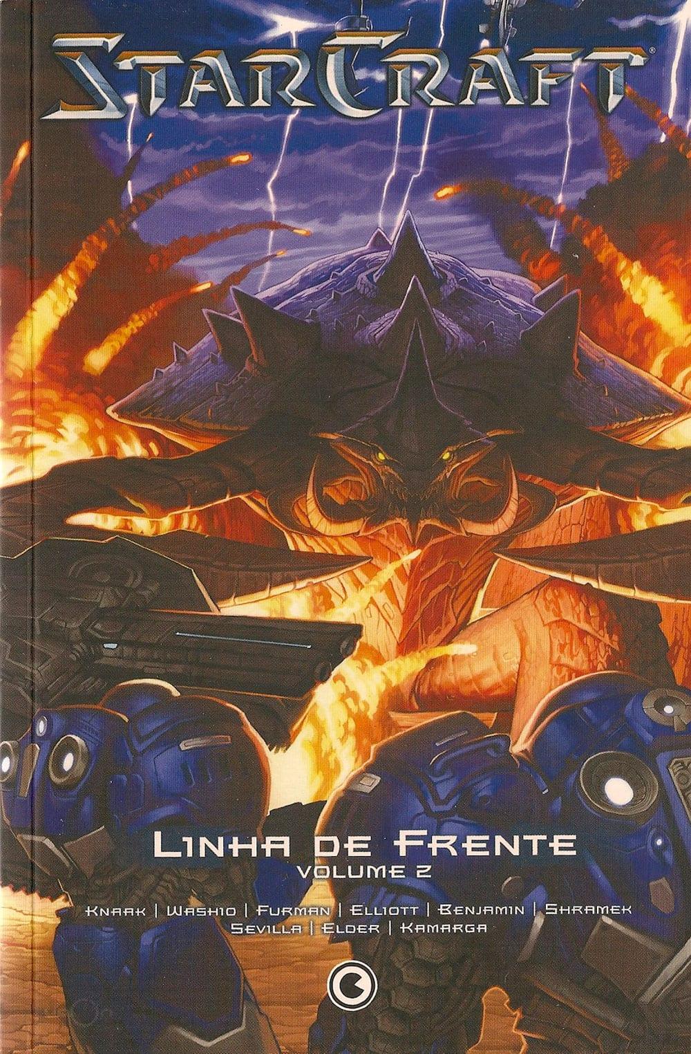 Capa: Starcraft: Linha de Frente 2