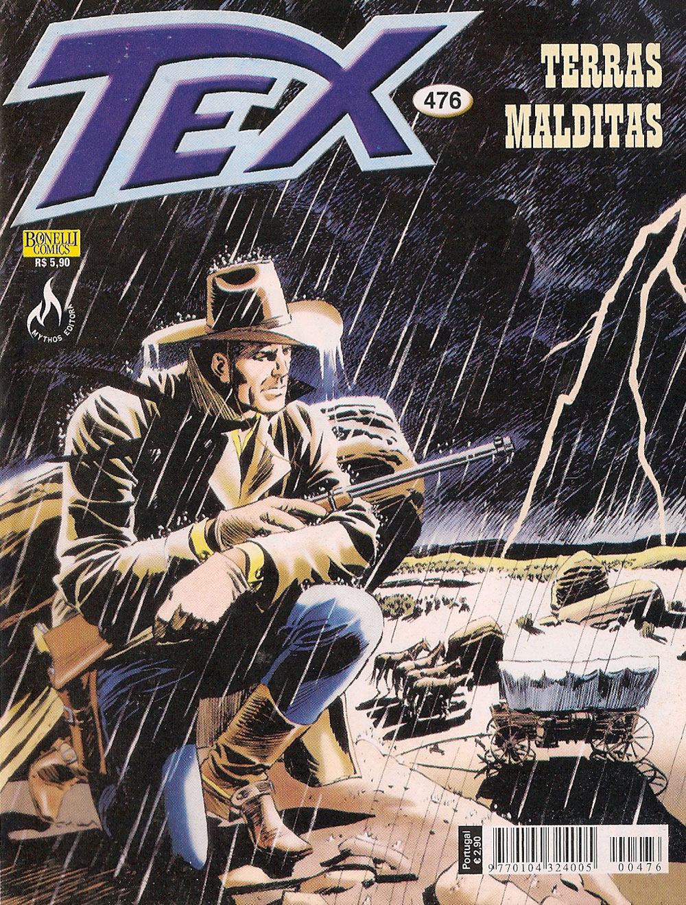 Capa: Tex Mythos 476