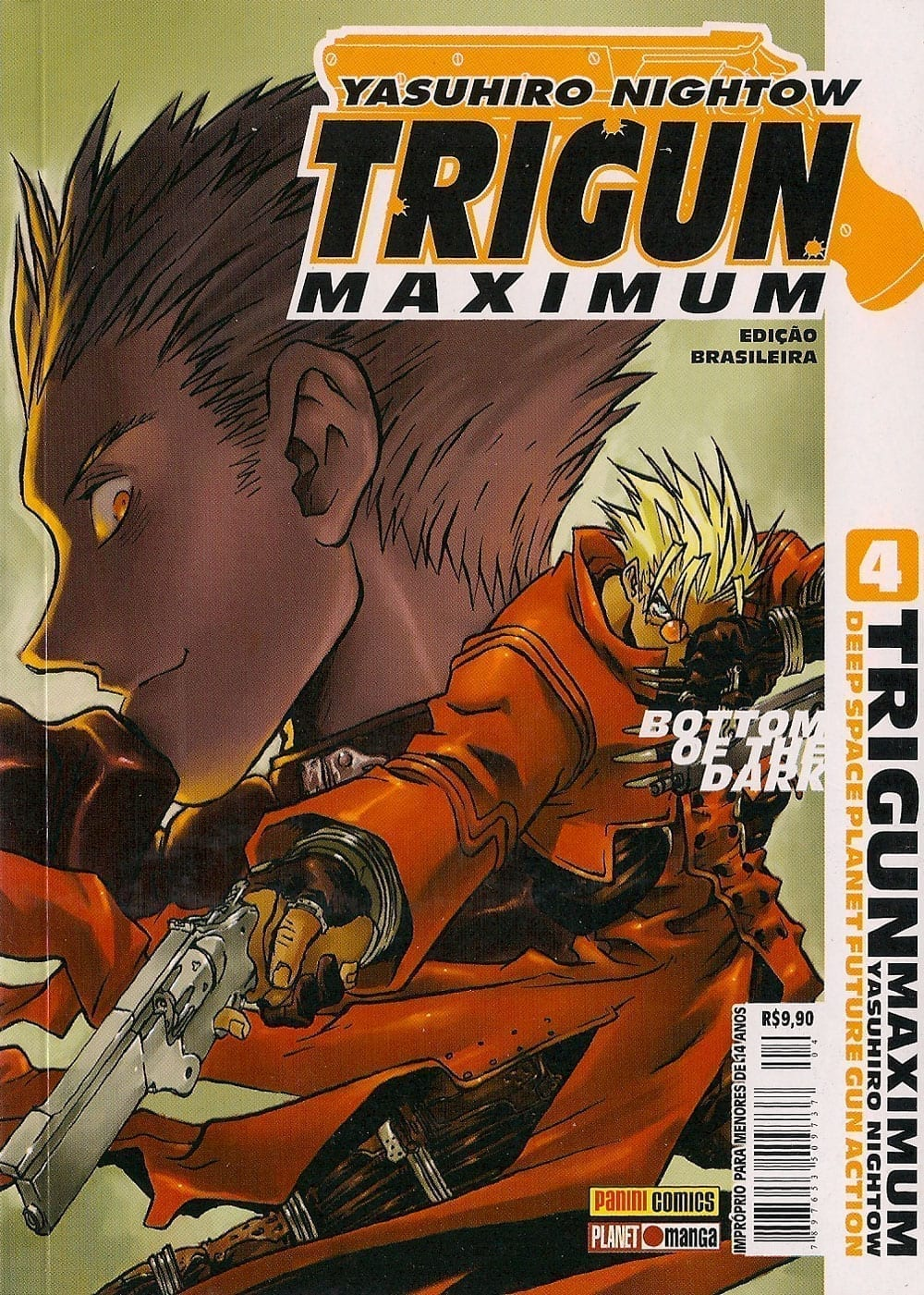 Capa: Trigun Maximum 4