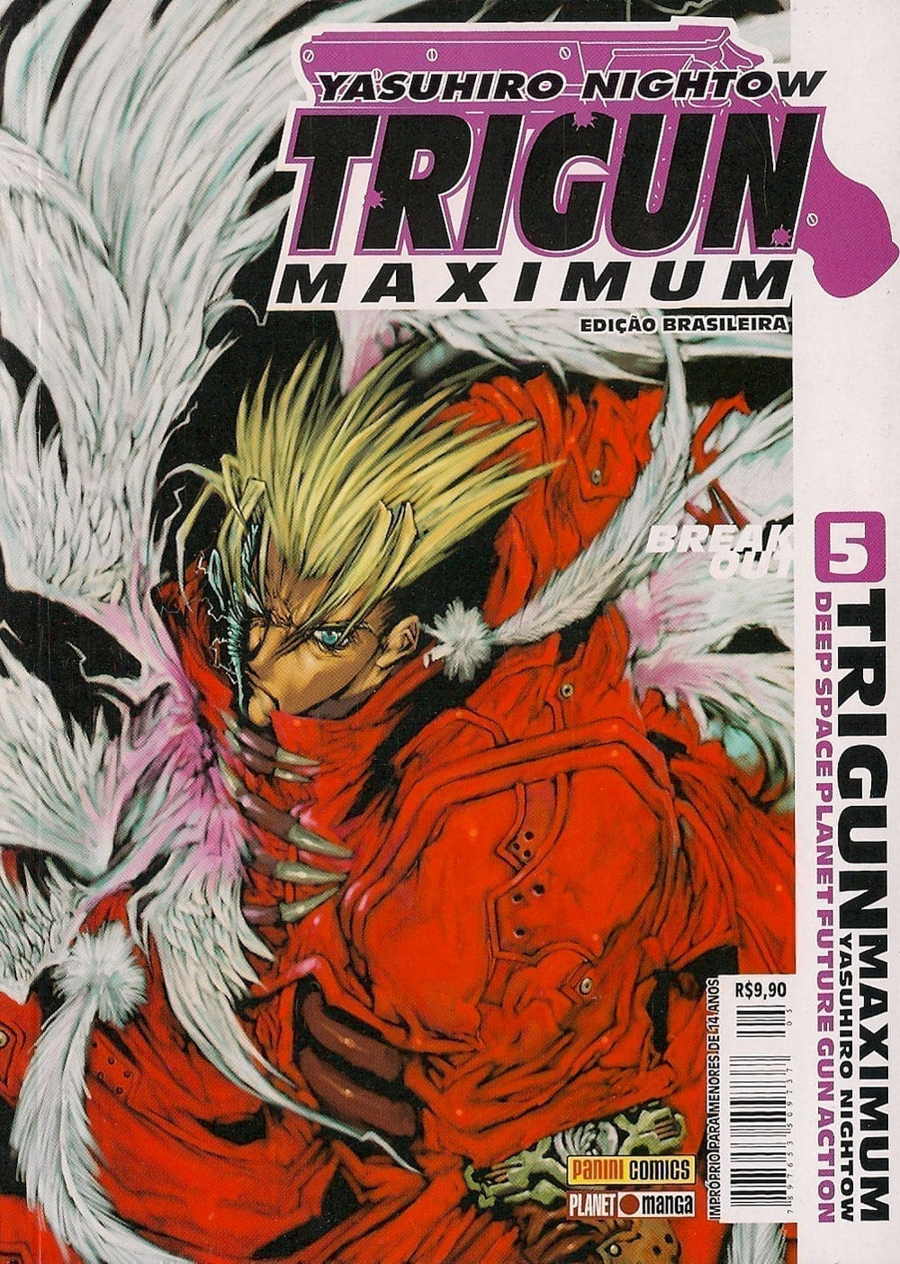 Capa: Trigun Maximum 5