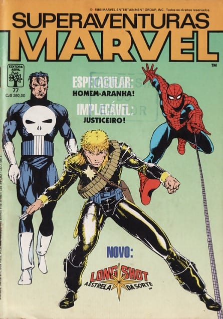 Capa: Superaventuras Marvel Abril 77