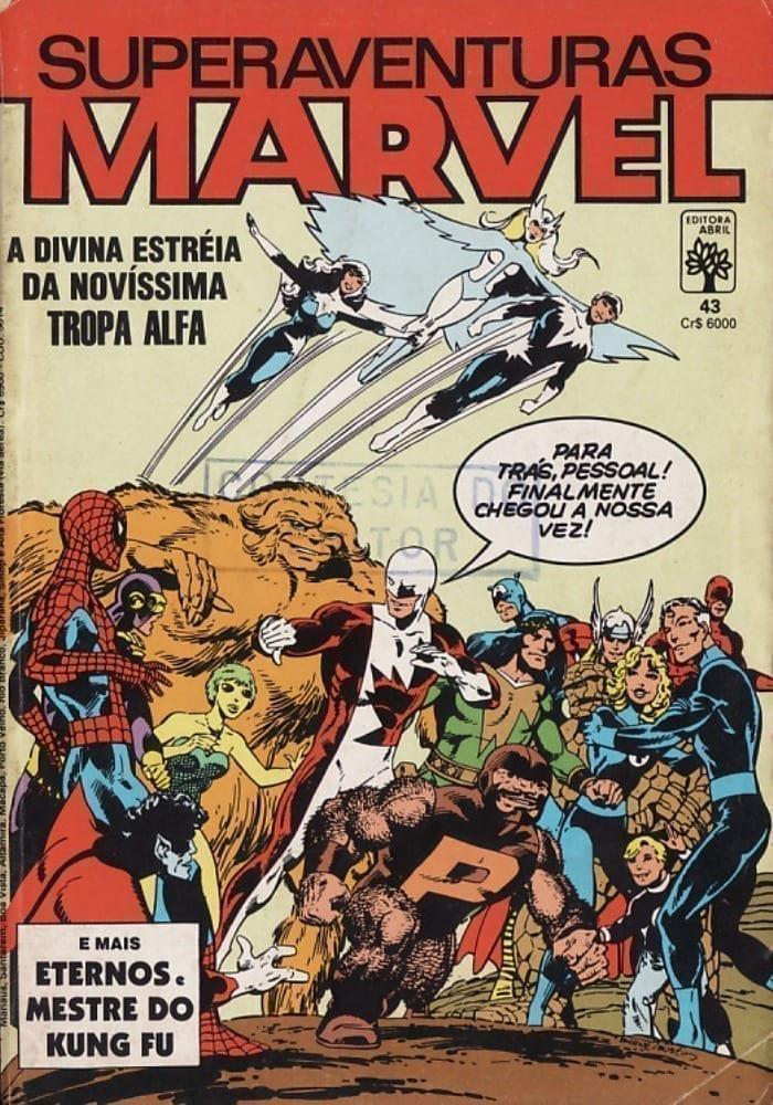 Capa: Superaventuras Marvel Abril 43