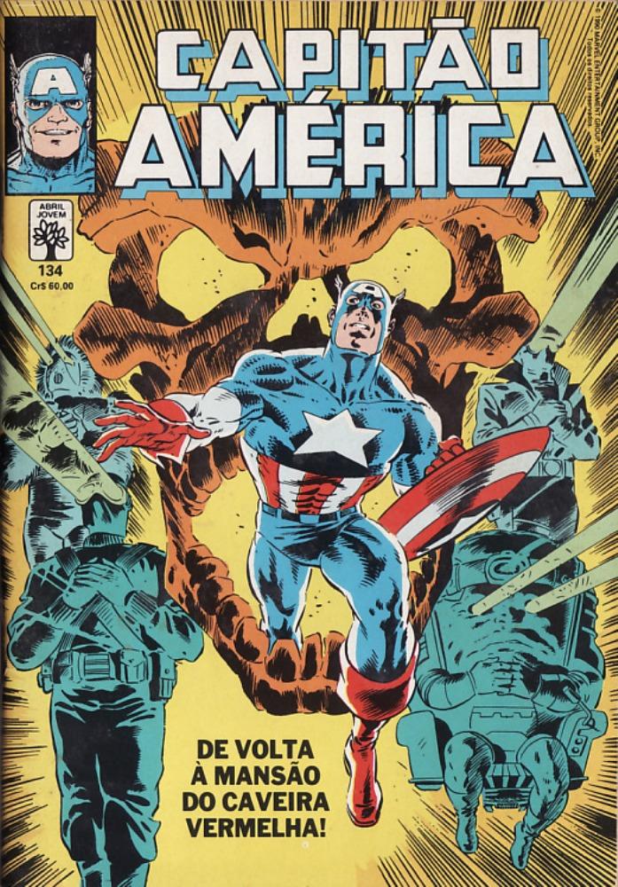 Capa: Capitão América Abril 134
