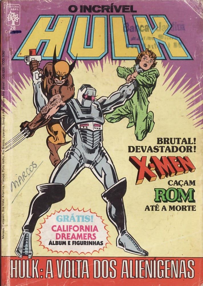 Capa: O Incrível Hulk Abril 28