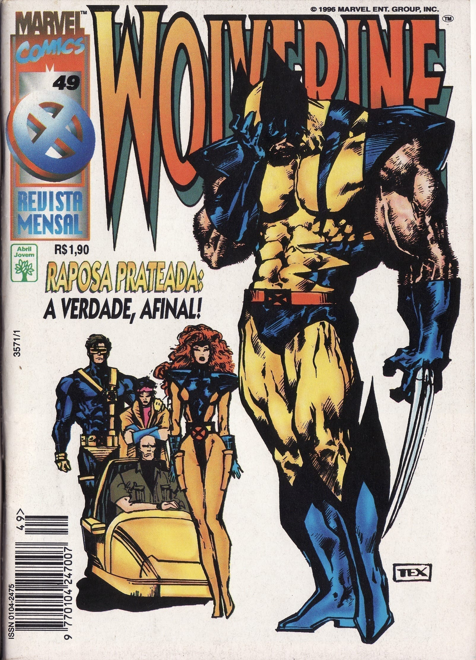 Capa: Wolverine Abril 49
