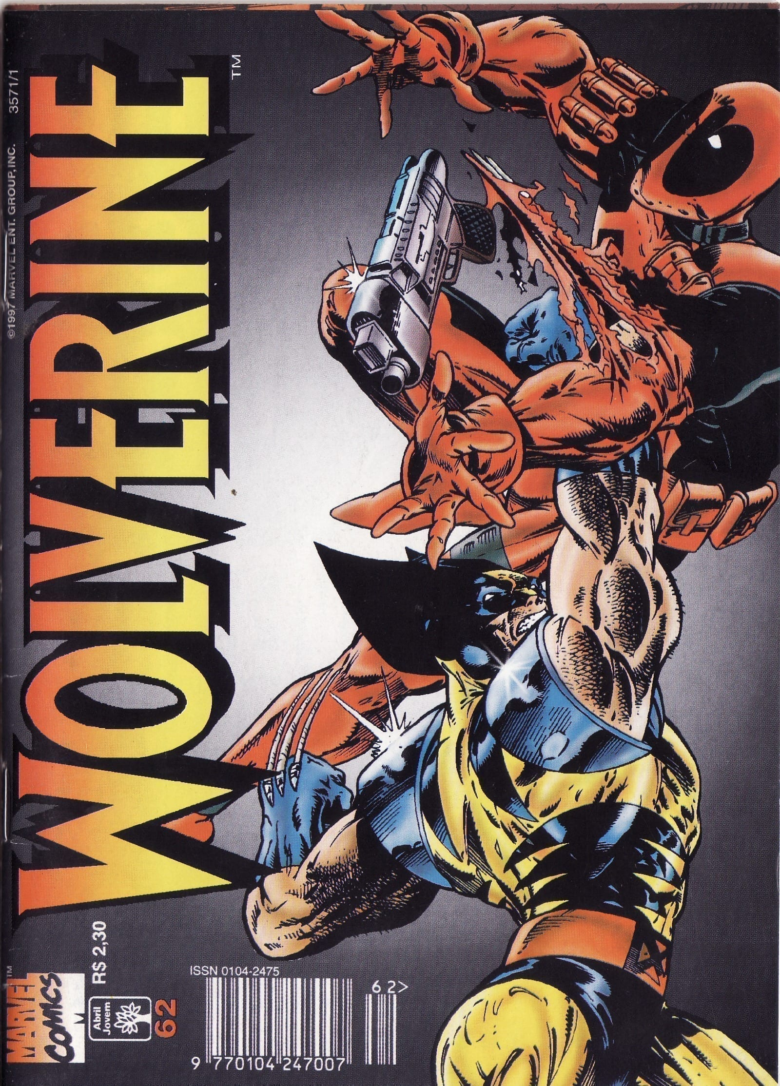 Capa: Wolverine Abril 62