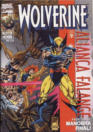 Capa: Wolverine Abril 60