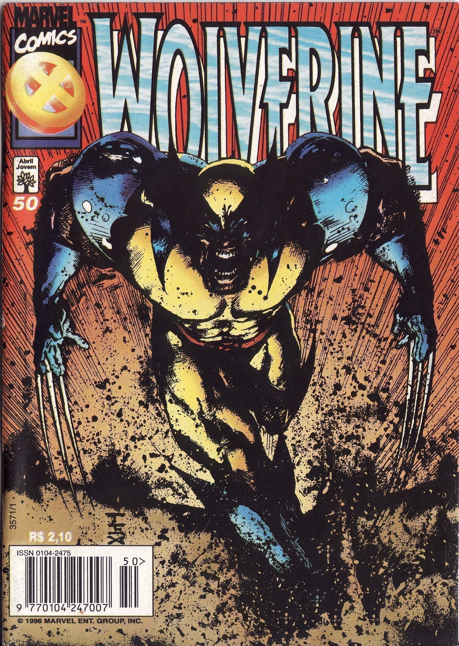 Capa: Wolverine Abril 50