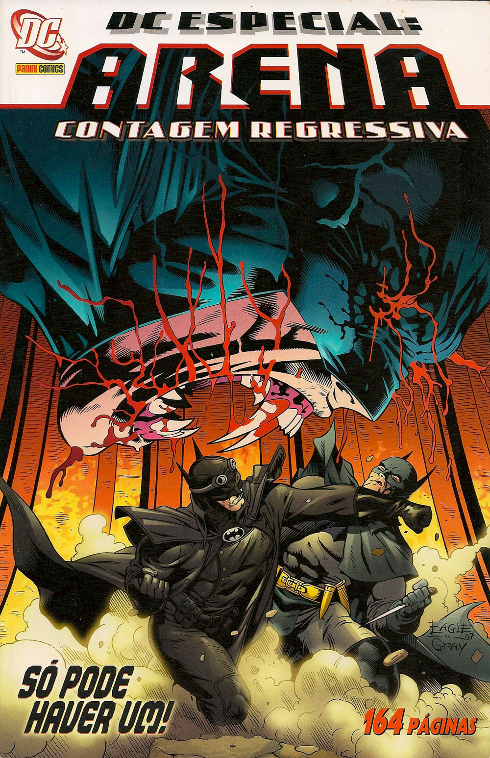 Capa: DC Especial: Arena - Contagem Regressiva