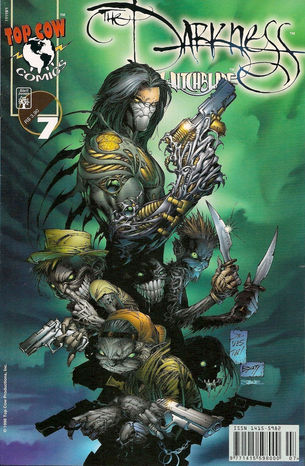 <span>The Darkness & Witchblade 7</span>