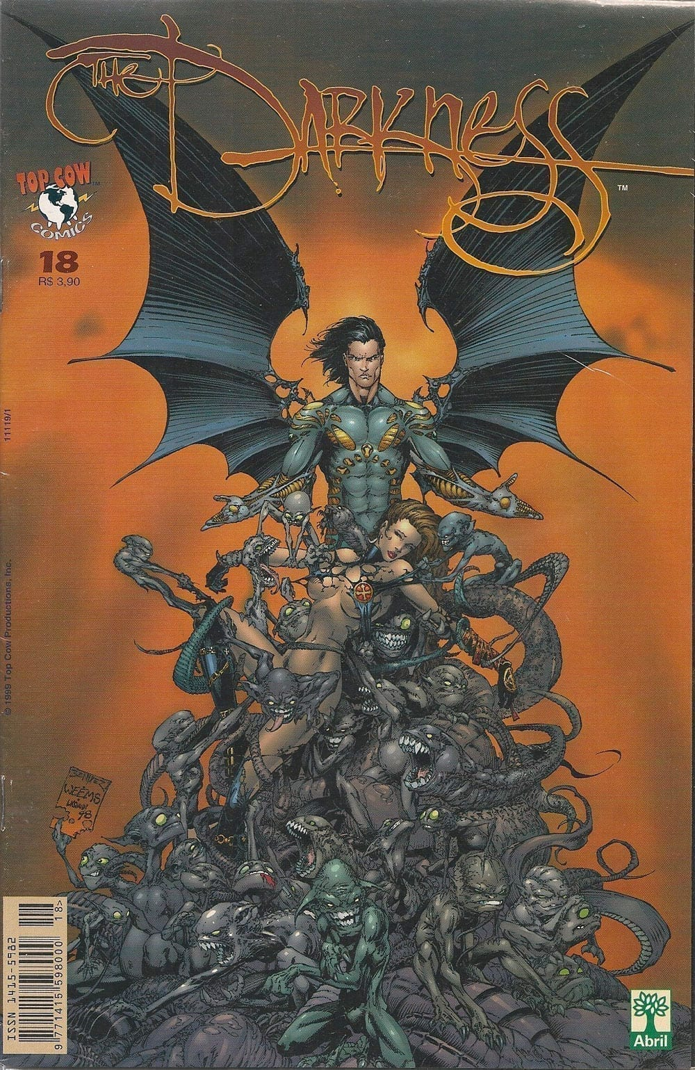 <span>The Darkness & Witchblade 18</span>