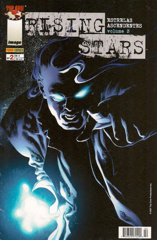 Capa: Rising Stars - Estrelas Ascendentes - volume 3 2