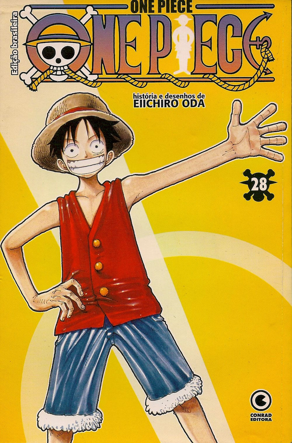 Capa: One Piece - Conrad 28