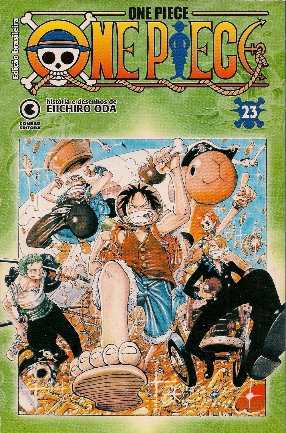Capa: One Piece - Conrad 23