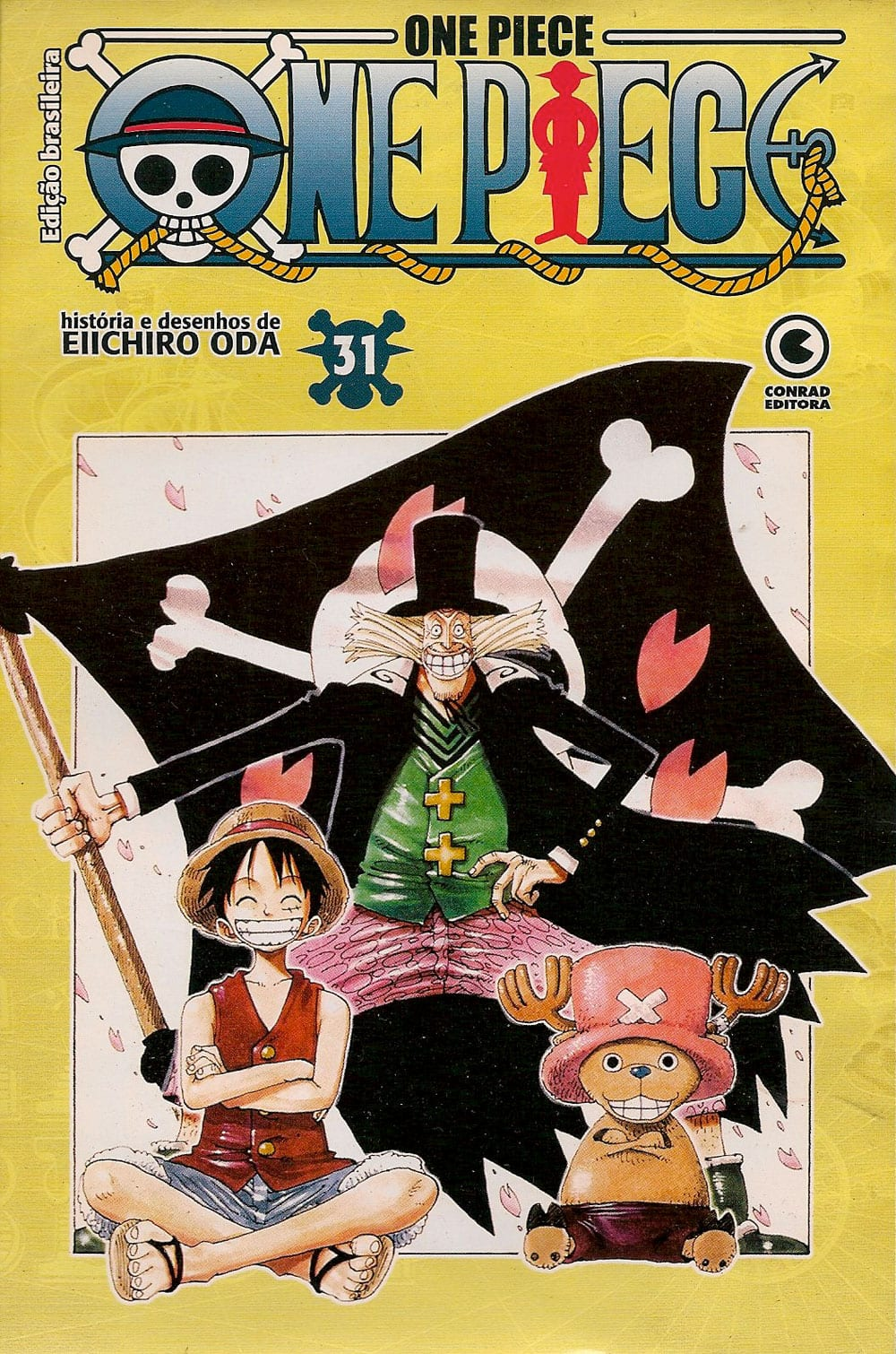 Capa: One Piece - Conrad 31