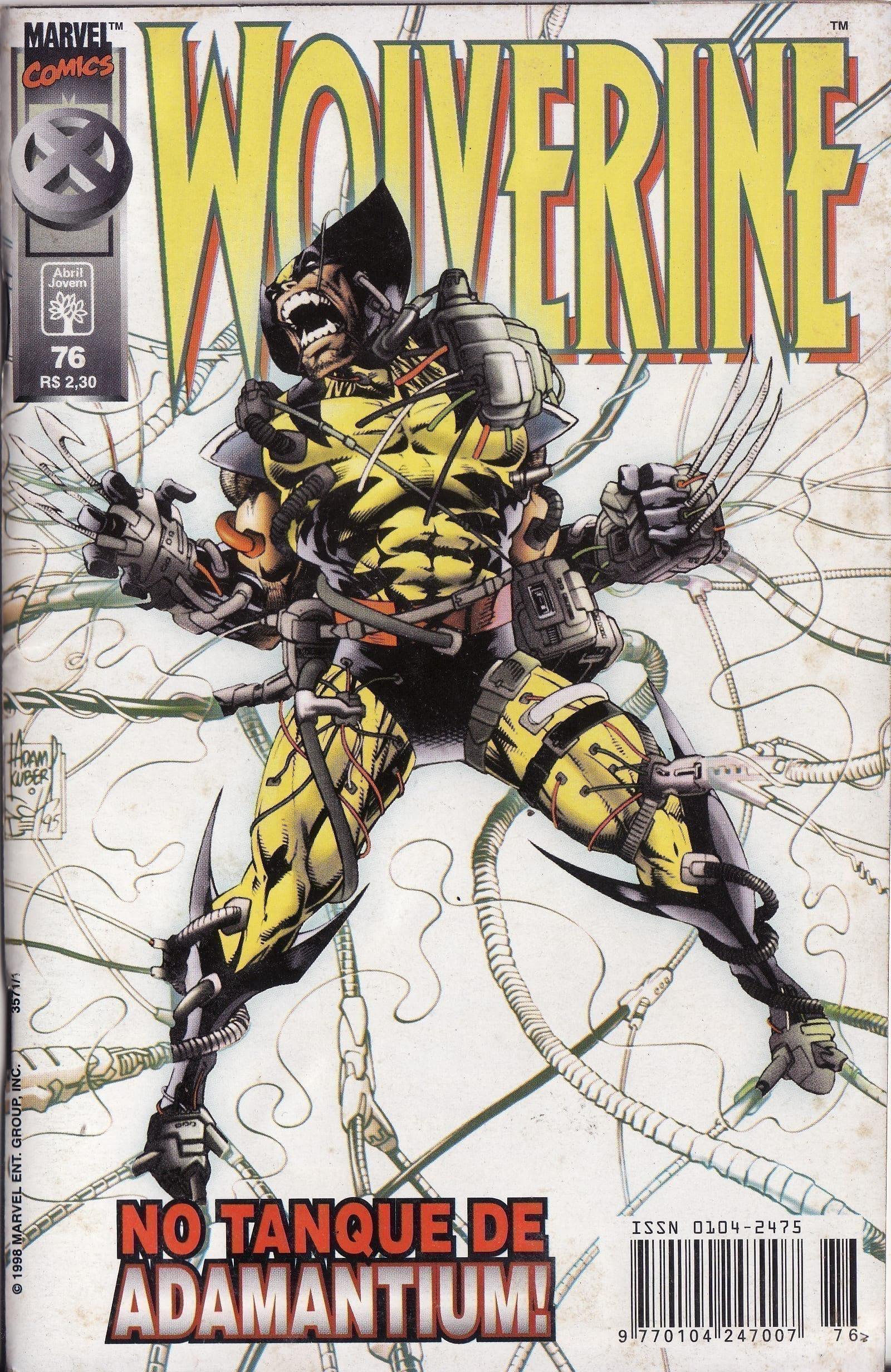 Capa: Wolverine Abril 76