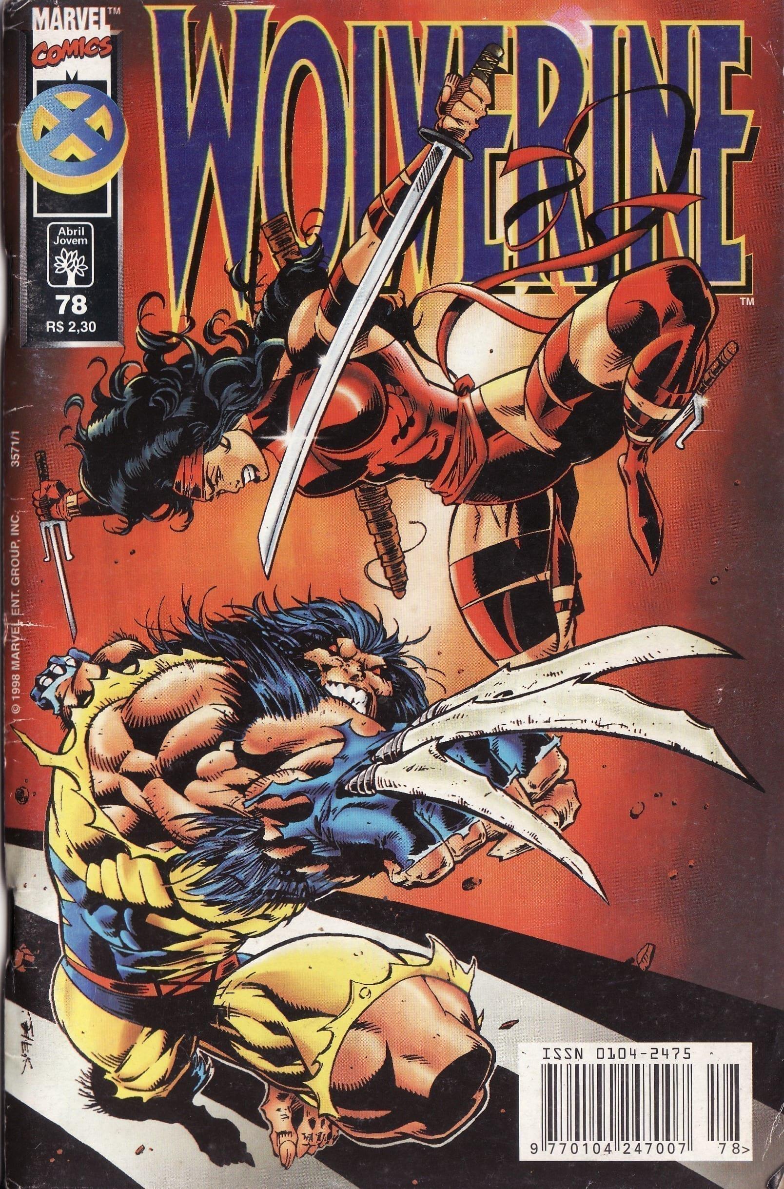 Capa: Wolverine Abril 78