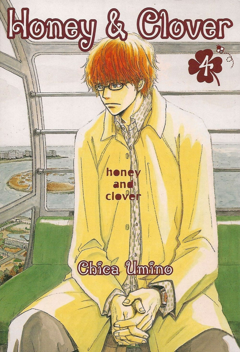 Capa: Honey & Clover 4
