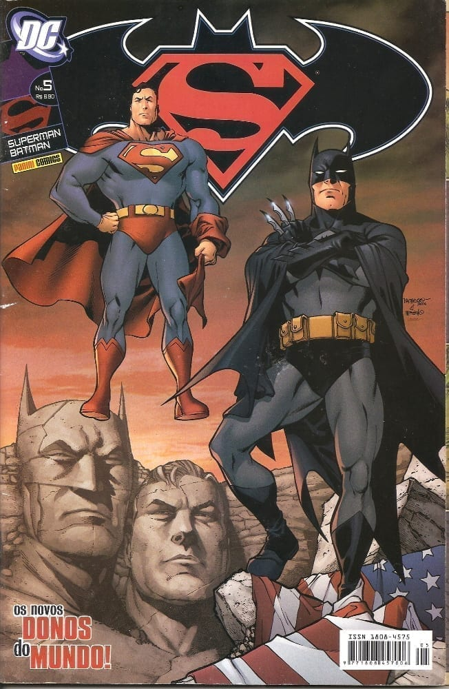 Capa: Superman & Batman 5