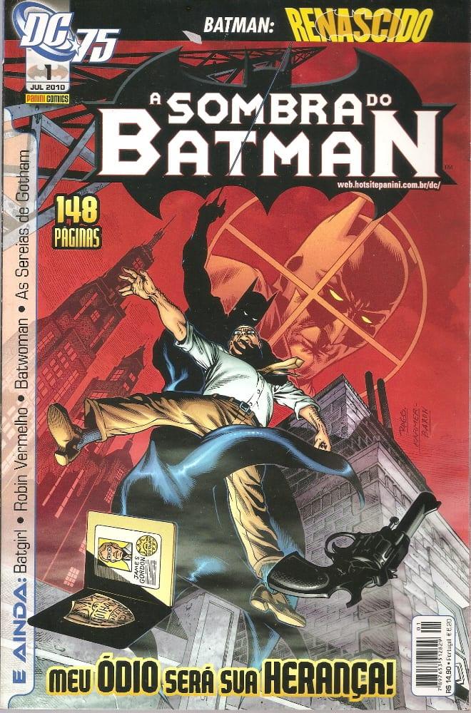 Capa: A Sombra do Batman - 1ª Série (Panini) 1