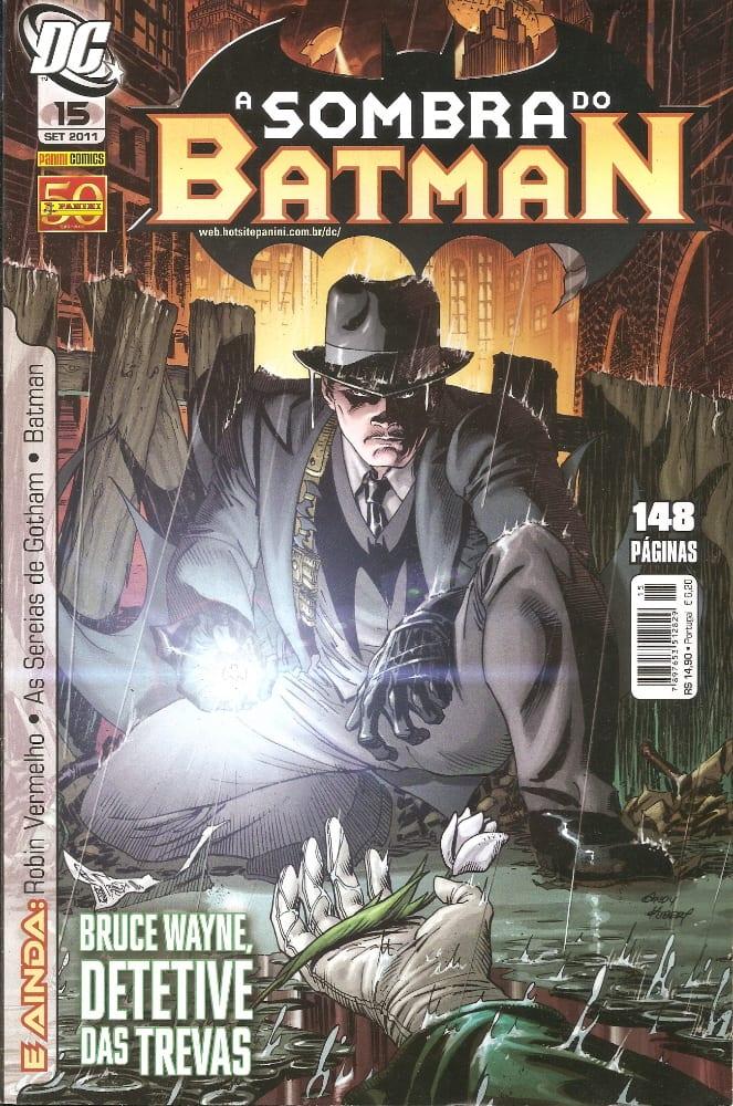 Capa: A Sombra do Batman - 1ª Série (Panini) 15