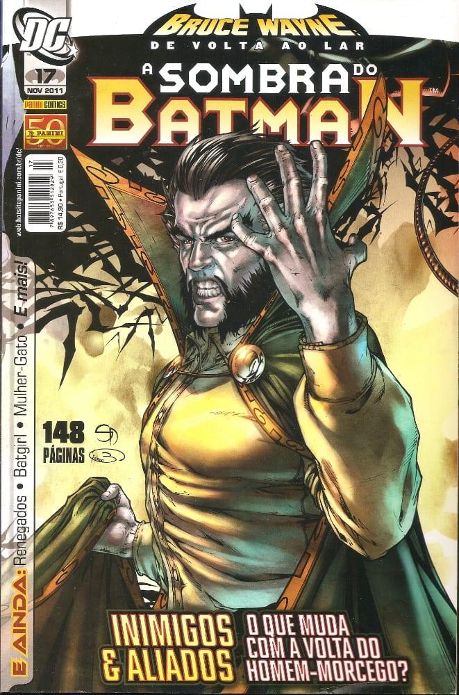 Capa: A Sombra do Batman - 1ª Série (Panini) 17