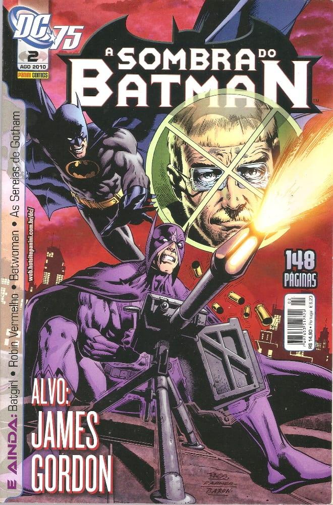 Capa: A Sombra do Batman - 1ª Série (Panini) 2