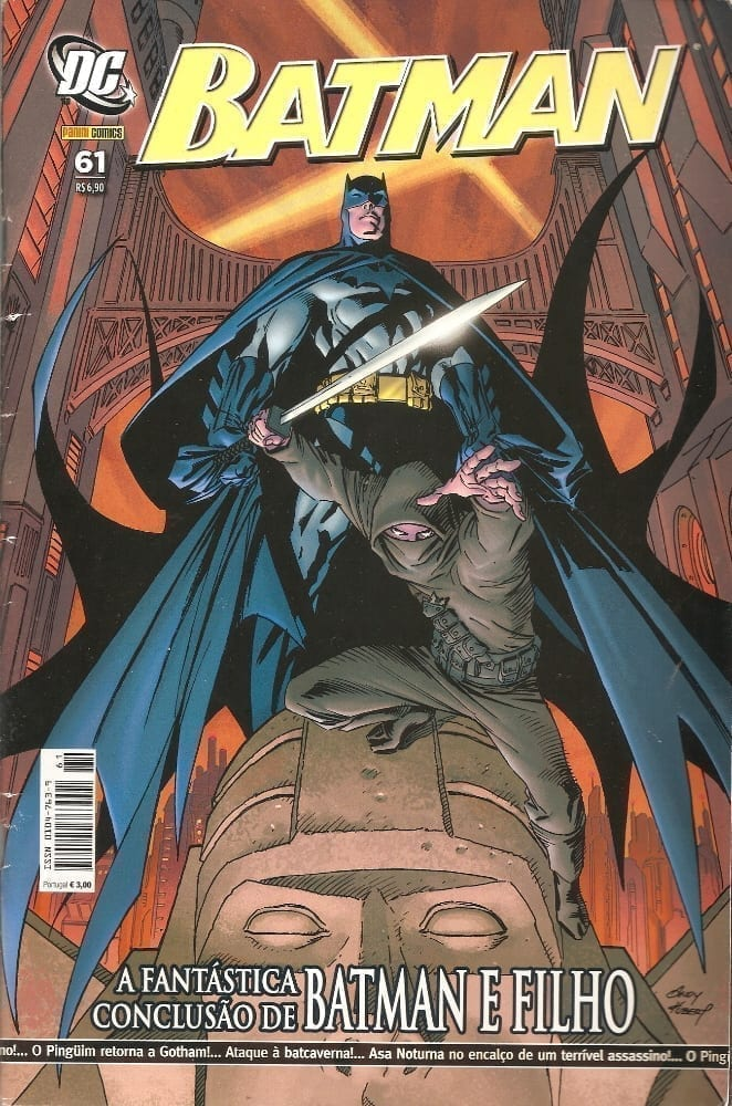 Capa: Batman Panini 1ª Série 61