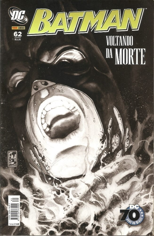 Capa: Batman Panini 1ª Série 62