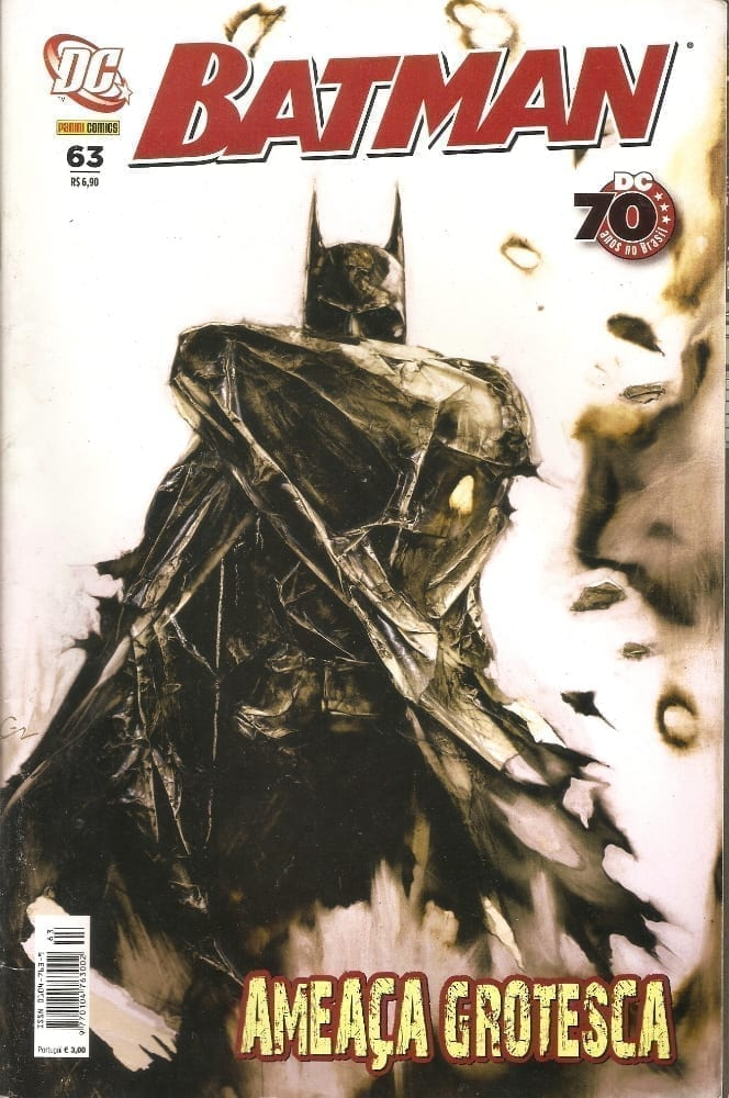 Capa: Batman Panini 1ª Série 63