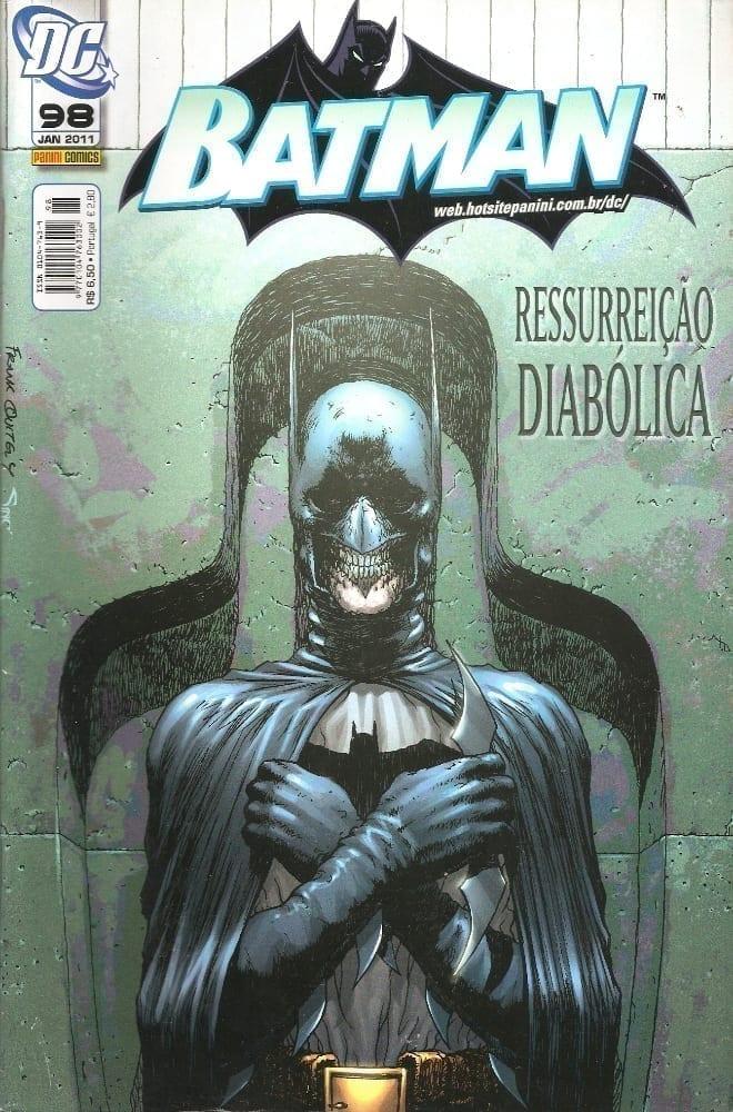 Capa: Batman Panini 1ª Série 98
