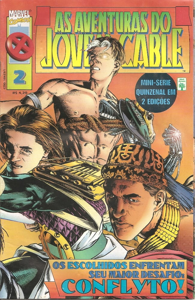 Capa: As Aventuras do Jovem Cable 2