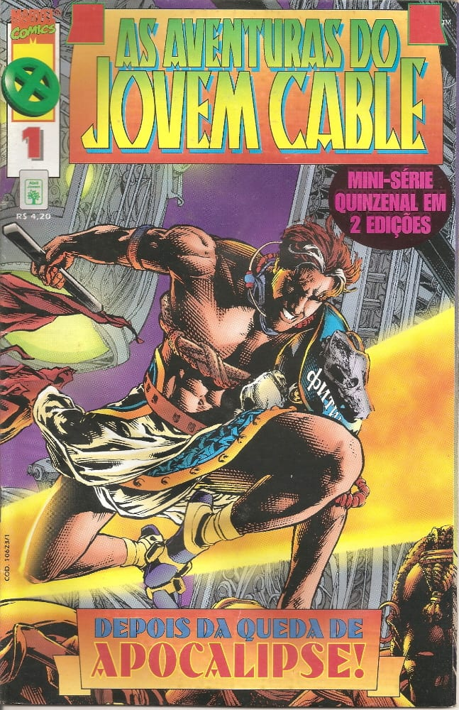 Capa: As Aventuras do Jovem Cable 1