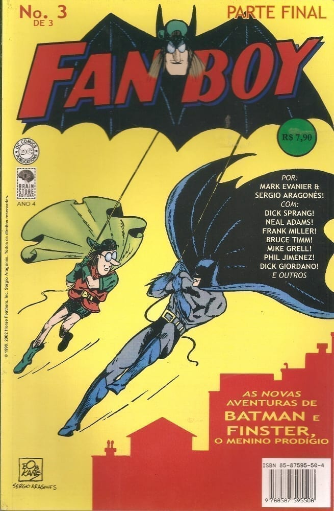 Capa: Fanboy 3