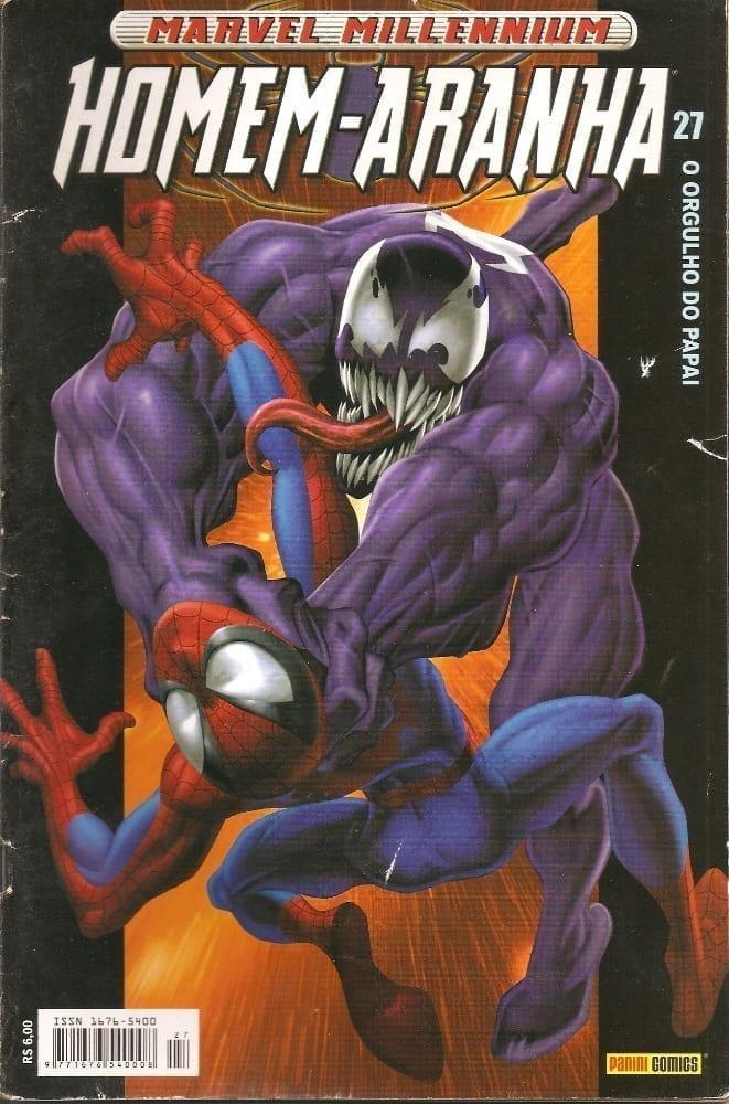 Capa: Marvel Millennium Homem-Aranha 27