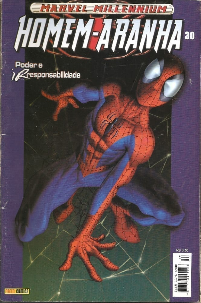 Capa: Marvel Millennium Homem-Aranha 30