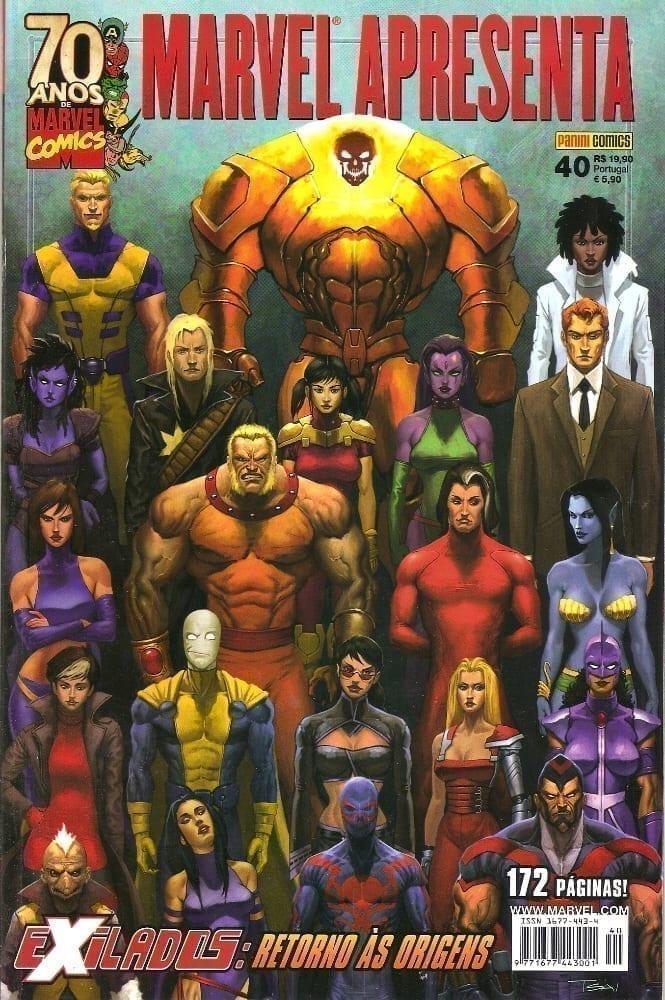 Capa: Marvel Apresenta - Exilados: Retorno às Origens 40