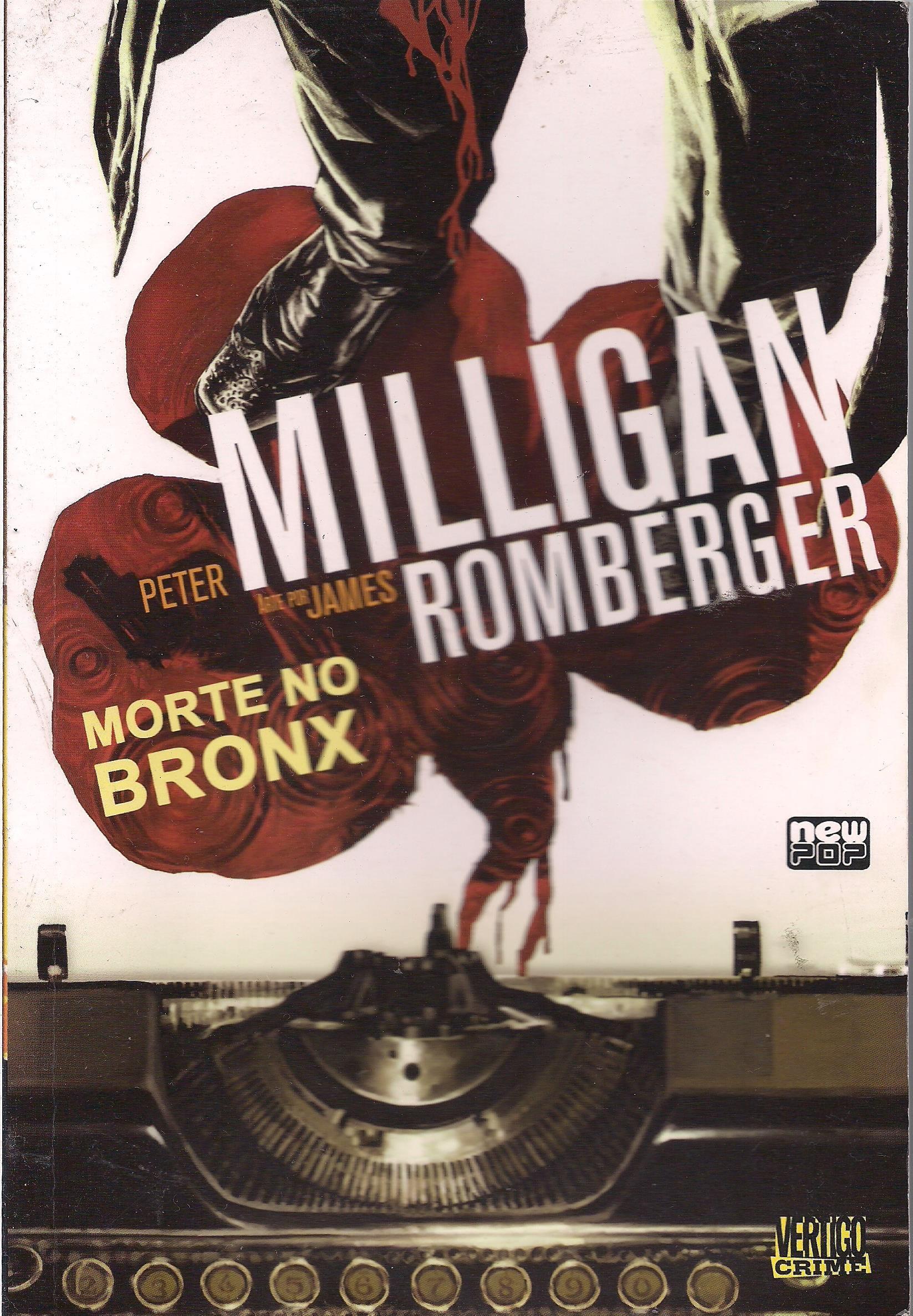 Capa: Vertigo Crime - Morte no Bronx 3