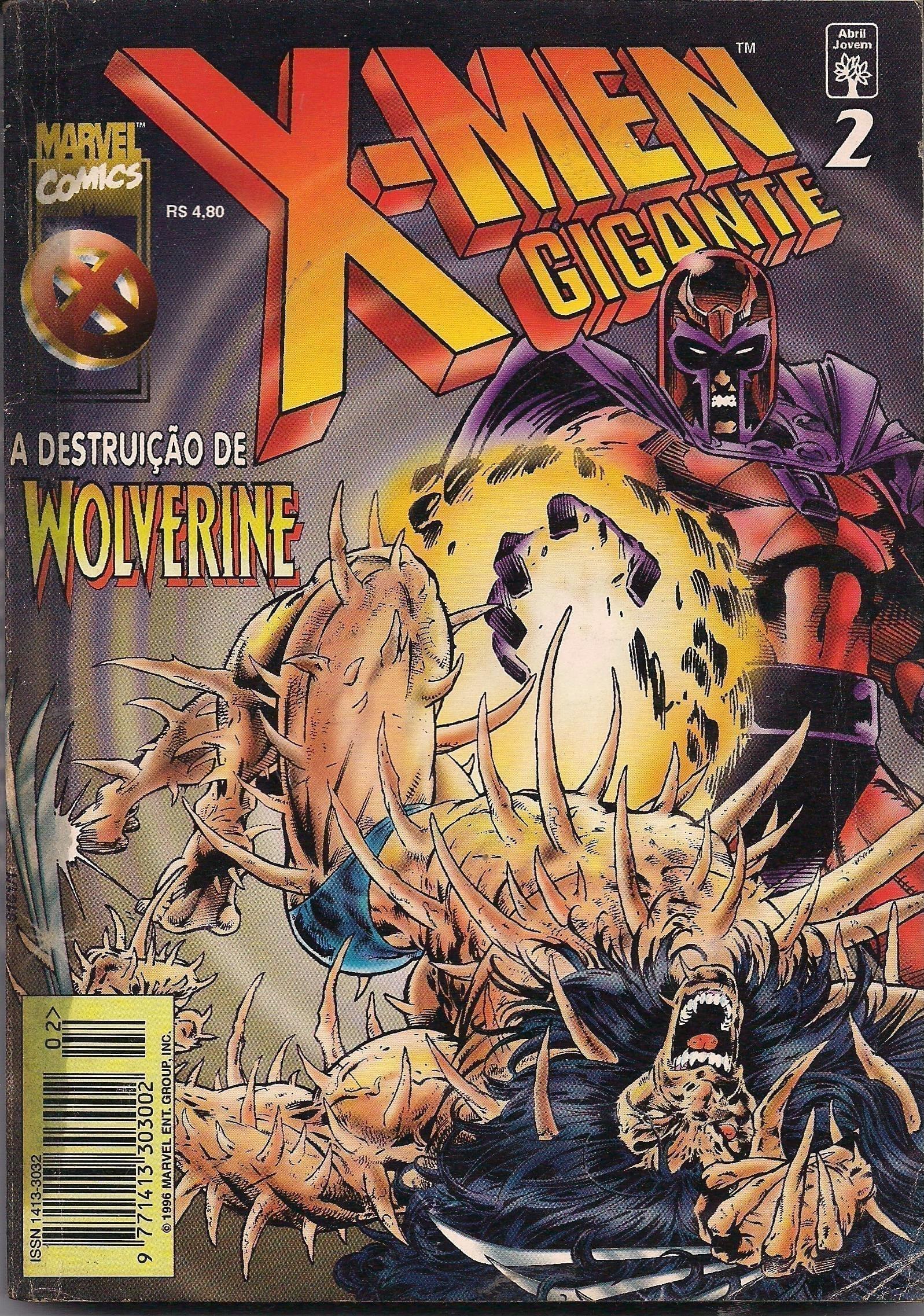 Capa: X-Men Gigante - A Destruição de Wolverine 2
