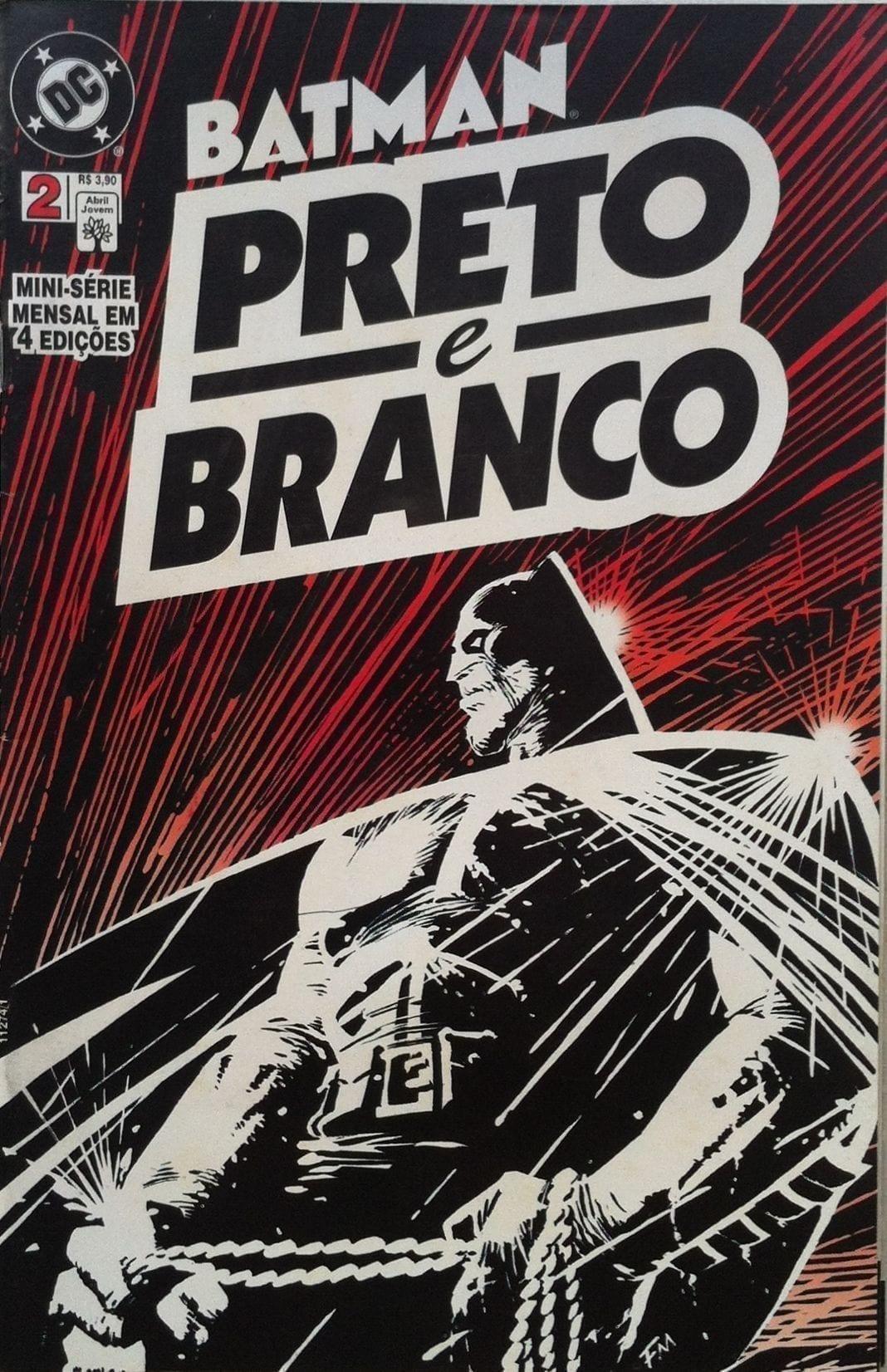 Capa: Batman - Preto e Branco 2