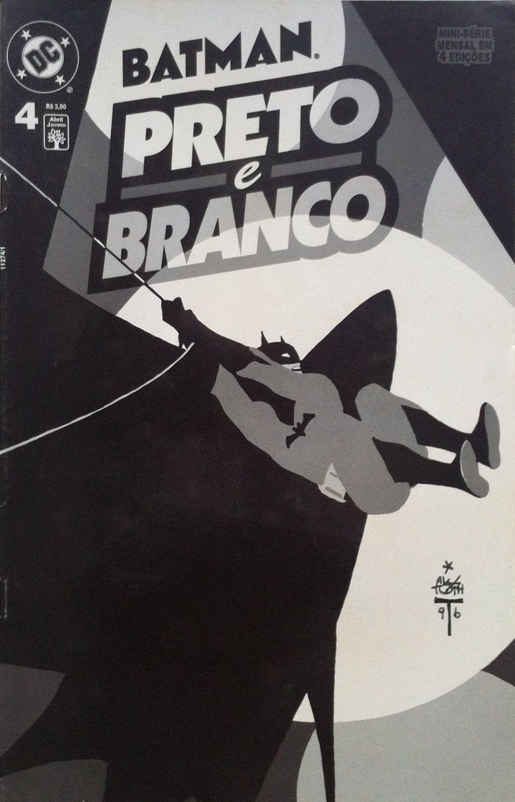 Capa: Batman - Preto e Branco 4