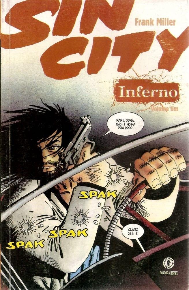 Capa: Sin City - Inferno 1